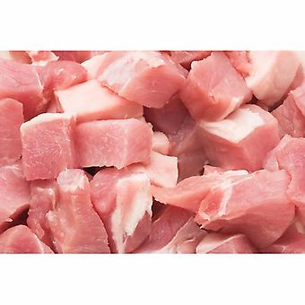 Frozen Uncooked British Diced Pork Shoulder