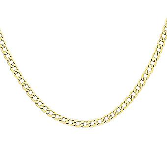 TJC 9ct Yellow Gold Curb Chain Necklace Size 18""
