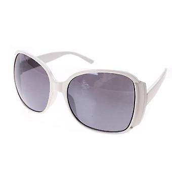 Sunglasses Women's White with Grey Lens (A60315)