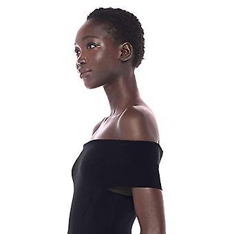 Merk - Lark & Ro Women&s Off the Shoulder Sheath Sweater Dress, Navy, X-Large