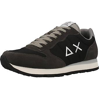 Sun68 Sport / Tom Solid Nylon Color Black Sneakers
