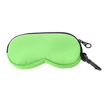Eyeglass case Unisex 16 x 8 cm green