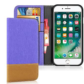 Carteira Shell Móvel para Apple iPhone 7 Plus/8 Plus Telefone Magnet Leatherette