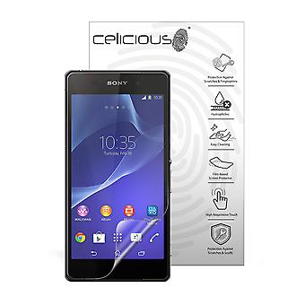 Celicious Impact Anti-Shock Shatterproof Screen Protector Film Compatible with Sony Xperia Z2