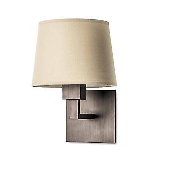 Leds-C4 Bali - 1 lys innendørs vegg lys bronse, E27