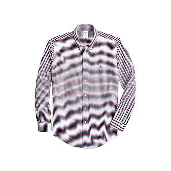 Brooks Brothers Men's Milano Fit Fensterscheibe Sport Shirt