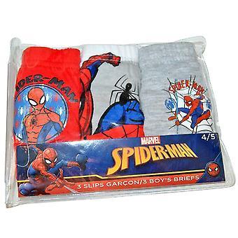 Poikien alus housut 3-pakkaus Spider-Man