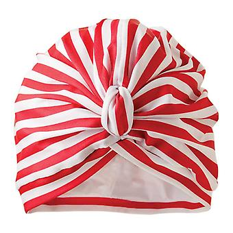 Dilly Daydream Stripey Rode Luxe Douche Tulband