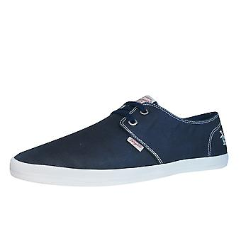 Penguin Clive Mens Trainers / Shoes -  Navy
