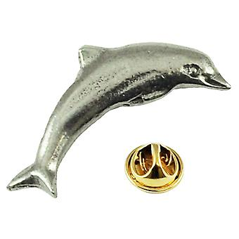 Ties Planet Dolphin English Pewter Lapel Pin Badge