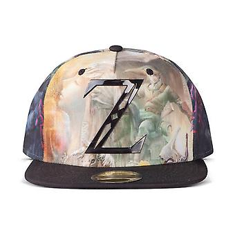 Die Legende von Zelda mystische All-over Druck Snapback Baseball Cap - Mehrfarbige