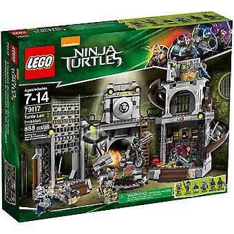 Штаб-квартира LEGO 79117 вторжения черепаха