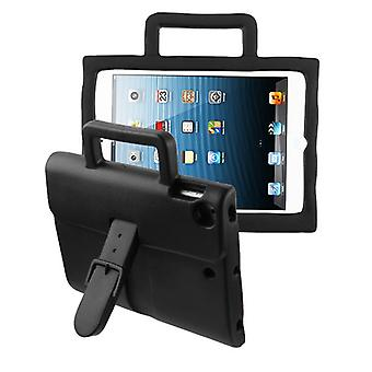 Briefcase Kids Drop-resistant Protector Cover for iPad Air (A1474,A1475,A1476) - Black