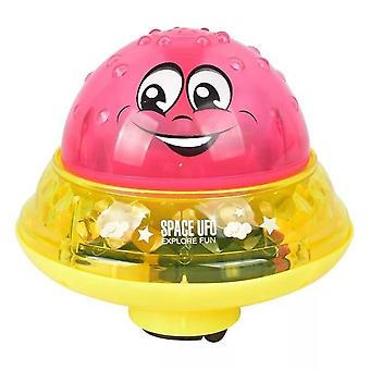 Baby Electric Induction Sprinkler Water Spray Play Ball With Light Music For Children