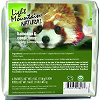Light Mountain Natural Hair Color & Conditioner, Cinnamon 16 Oz