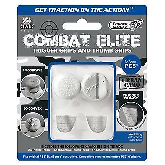 Kampf Elite Daumen & Trigger Treadz Dual Sense Controller Griffe (ps5)