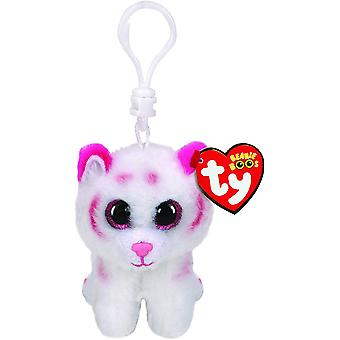 Ty Boo Key Clip - Tabor the Tiger