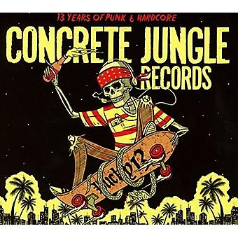 Various Artist - Concrete Jungle Records - Lucky 13 [CD] USA import