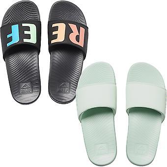 Reef Womens One Slide Casual Summer Beach Pool Thongs Flip Flops Sandal Sliders