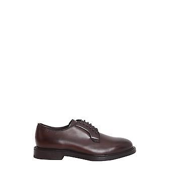 Henderson 57211vitmonettmoro Men's Brown Leather Lace-up Shoes