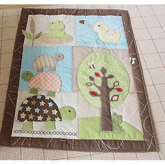 Painettu puuvillapeitto-comforter