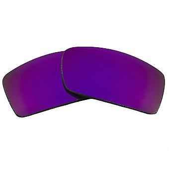 عدسات استبدال لنظارات أوكلي غاسكان النظارات الشمسية المضادة للخدش مرآة أرجوانية