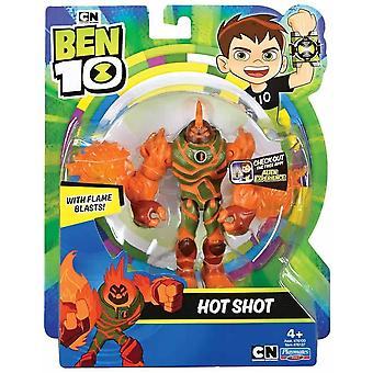 Ben 10 action figures - hot shot for ages 4+