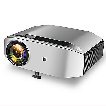 Native 1080P LED-Projektor, Full-HD-Projektor6800 Lumen HDMI-Projektor mit 300-Zoll-Display