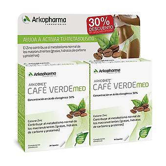 Duplo Arkopharma Arkodiet Café Verde Med 60 kapsler
