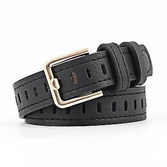 Women Leather Metal Pu Ladies, Buckle Belts For Jeans