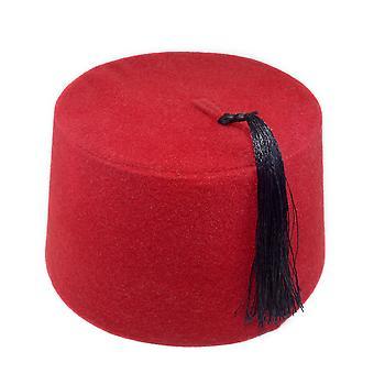 قبعة العثمانية الغريبة، فاس، فاس ، أصيلة التركية الفولكلورية، Tarboosh الشرقية،