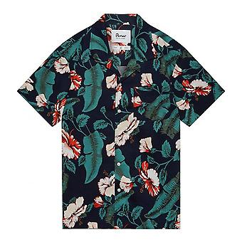 Penfield Men's Navy Floral Hunter Shirt