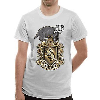 Harry Potter Unisex Adult Hufflepuff T-Shirt