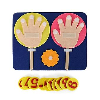 Montessori Mathematical Toy Teaching - Forma della mano