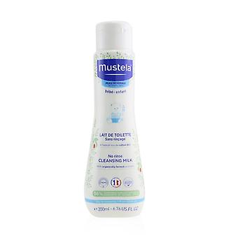 No Rinse Cleansing Milk - For Normal Skin - 200ml/6.6oz