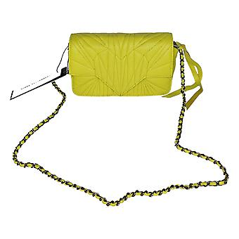 Aimee Kestenberg Quilted Leather Chain Crossbody Amarelo A376223