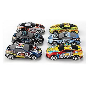 Racing Car Alloy Iron Shell Taxi Model