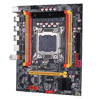 X79 Základní deska Lga 2011 Usb2.0 Sata3 Dual Protocol M.2 Podpora Reg Ecc paměti