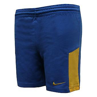 Nike Boys Running Shorts Kids Training Pants Blue Yellow 208717 463 A7D