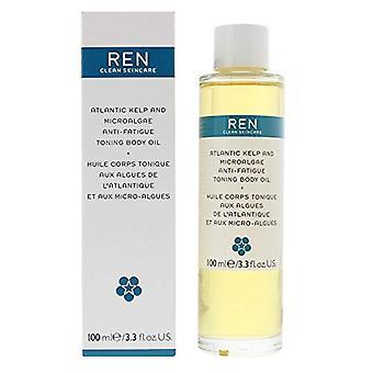Ren Atlantic Kelp And Microalgae Anti-Fatigue Toning Body Oil 100ml