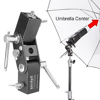 Selens se-l012 flash shoe umbrella holder light stand bracket for canon/nikon/yongnuo speedlight