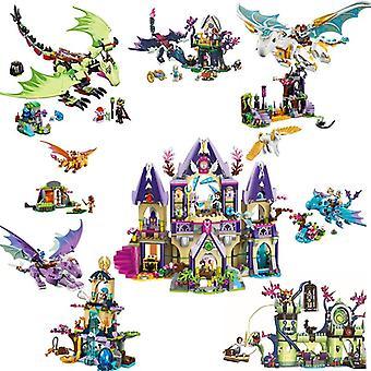 Disney Fairy Compatible Lepining Elves Dragon Series Fit Elves Fairy Friends