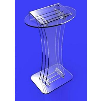 Multimedia Teaching Acrylic Lectern Church Pulpit/classroom