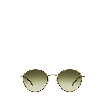 Garrett Leight PALOMA SUN champagne-gold unisex sunglasses