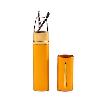 Mini Faltlesegläser - +1,0 bis 4,0 Legierung Behälter, Presbyopie Stift