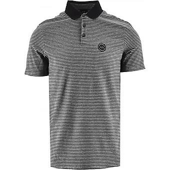 Armani Exchange Black Regular Fit Polo Shirt