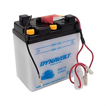 Dynavolt 6N61B Conventional Dry Charge Battery With Acid Pack
