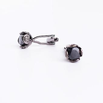 Novelty Luxury Rhinestone High Quality Crystal Cufflinks