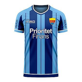 Djurgardens 2020-2021 Home Concept Fußball Kit (Libero)
