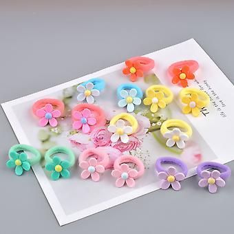 Υπέροχο λουλούδι πριγκίπισσα headwear κεφάλι μαλλιά σχοινιά αξεσουάρ ζώνες